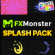 Splashes Pack | FCPX - VideoHive Item for Sale