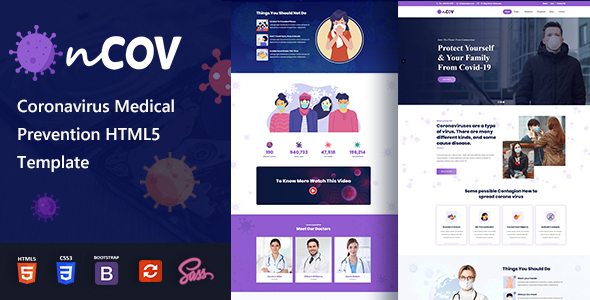 Awesome Ncov - Coronavirus Medical HTML