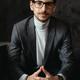 Portrait young, confident businessman wearing glasses - PhotoDune Item for Sale