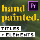 Hand Painted Titles & Elements