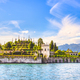 Isola Bella island in Maggiore lake, Borromean Islands, Stresa Piedmont Italy - PhotoDune Item for Sale