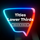 Neon Light Titles 6 - VideoHive Item for Sale