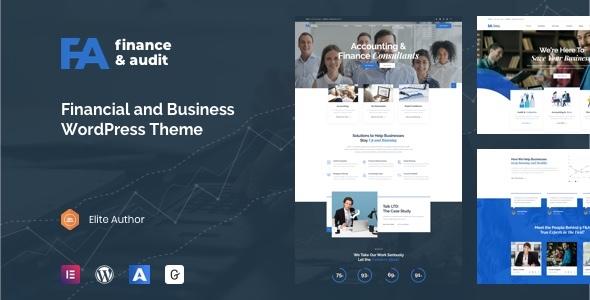 Famulus - Finance WordPress by TrueThemes
