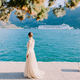 woman waiting for cruise ship sailing in Kotor Bay - PhotoDune Item for Sale