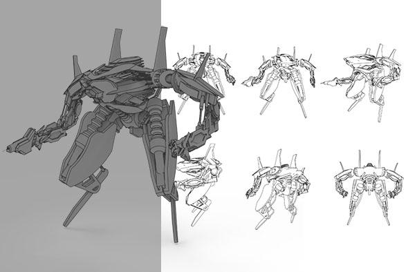 Air Work Robot