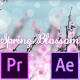 Spring Blossom - Premiere Pro - VideoHive Item for Sale