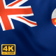 New South Wales Flag - 4K - VideoHive Item for Sale