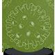 Coronavirus Sketch Background Green - VideoHive Item for Sale