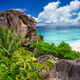 Most spectacular tropical beach Grande Anse on La Digue Island, Seychelles. Holiday vacation - PhotoDune Item for Sale