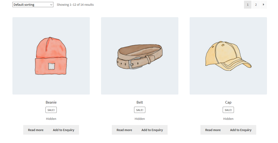 WooCommerce Product Enquiry Shop View