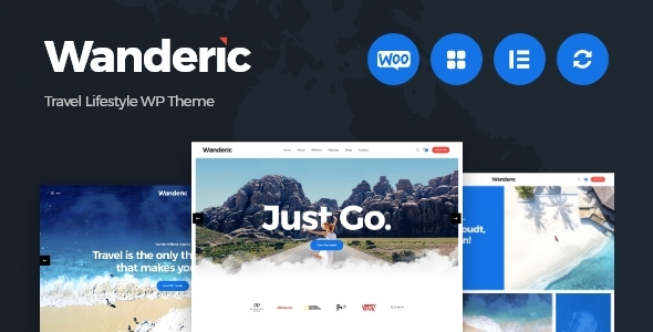 Wanderic - Travel Blog & Lifestyle WordPress Theme