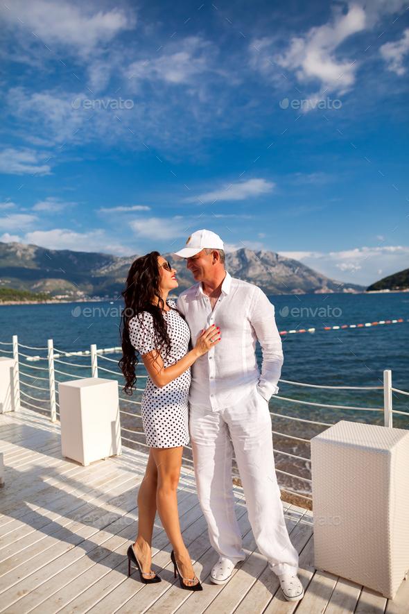 honeymoon couple - Stock Photo - Images