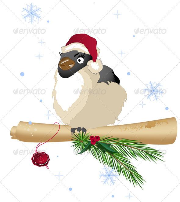 Christmas Bird - Animals Characters