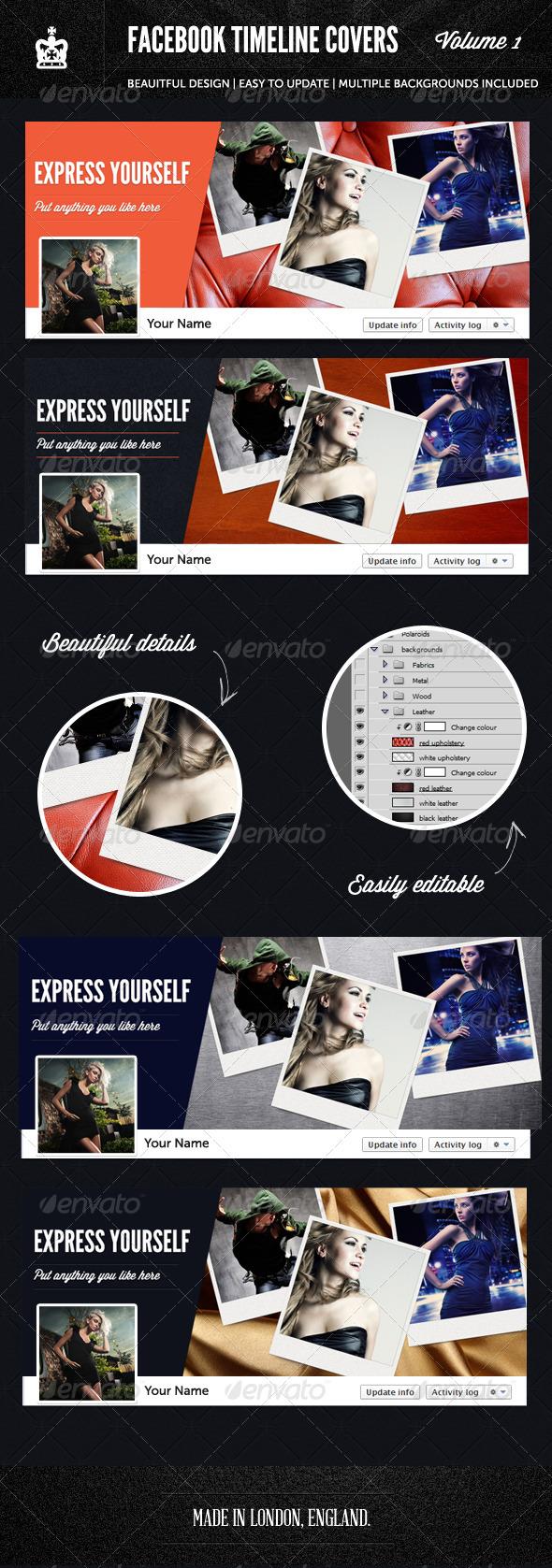 Facebook Timeline Covers - 1st Edition - Facebook Timeline Covers Social Media