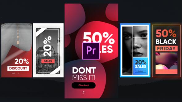 Instagram Sales Stories-Premiere Pro