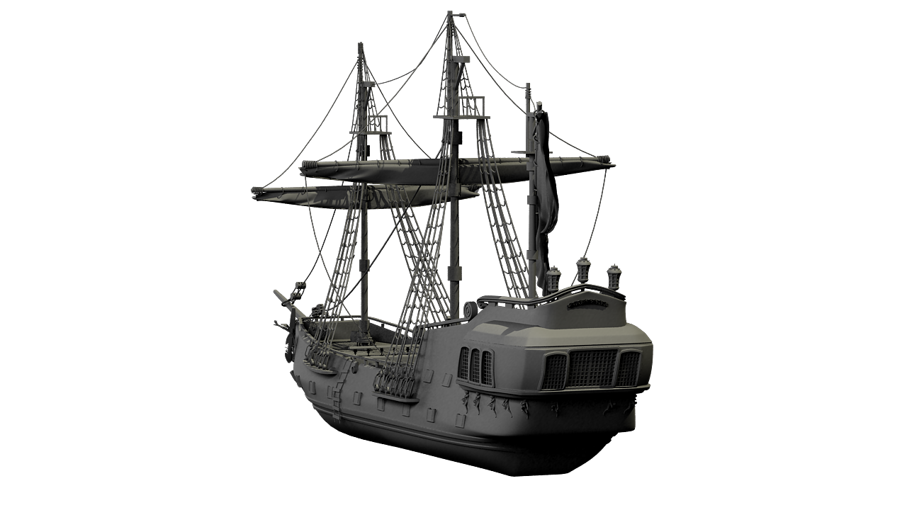 Pirate Ship By Khreks 3docean