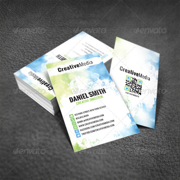 Cool Modern Business Card - Creative Business Cards