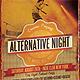 Alternative Night Music Flyer - GraphicRiver Item for Sale