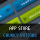 App Store Chunky Buttons - GraphicRiver Item for Sale