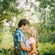 teenage couple kissing and embracing - PhotoDune Item for Sale