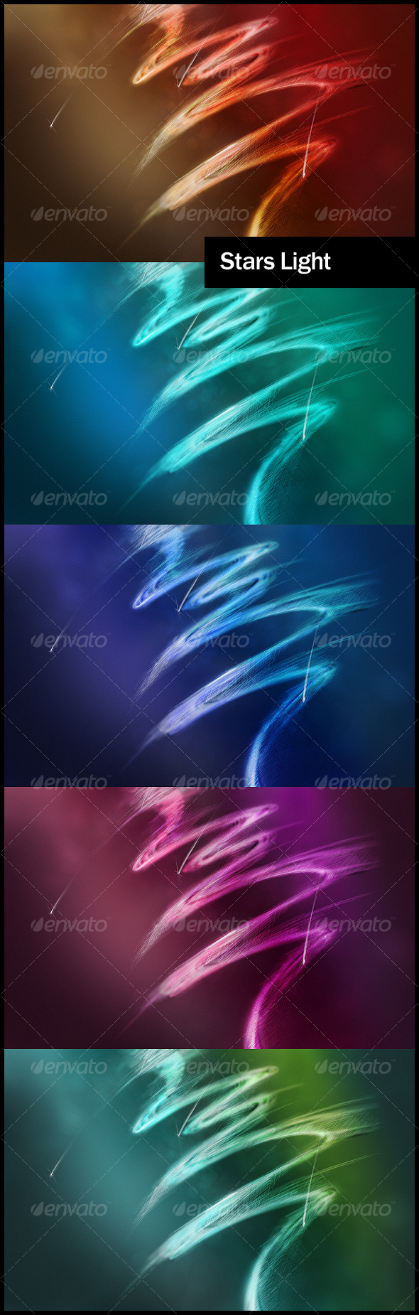 Stars Light Theme Backgrounds - Abstract Backgrounds