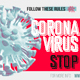 Coronavirus Stop - Protection Rules - VideoHive Item for Sale