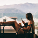 sexy Woman using smartphone at home - PhotoDune Item for Sale