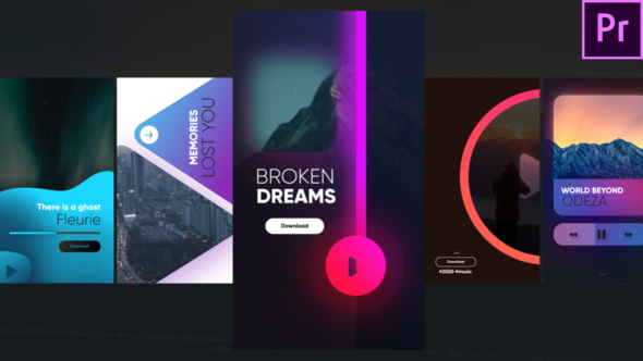 Instagram Music Stories – Premiere Pro