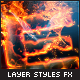 Hot Lava and Fire Layer Styles Text Effects - GraphicRiver Item for Sale