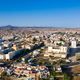 Aerial view of Praia city in Santiago - Capital of Cape Verde Islands - Cabo Verde - PhotoDune Item for Sale