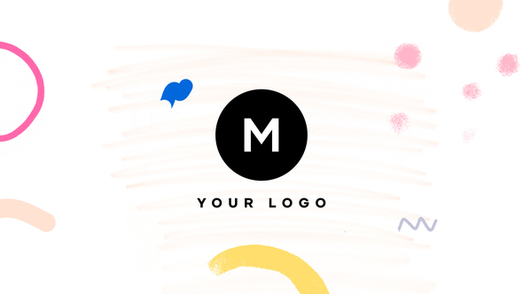 Hand Drawn Brush Minimal Logo