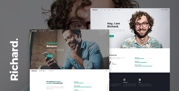 Richard - Easy Onepage Personal Template