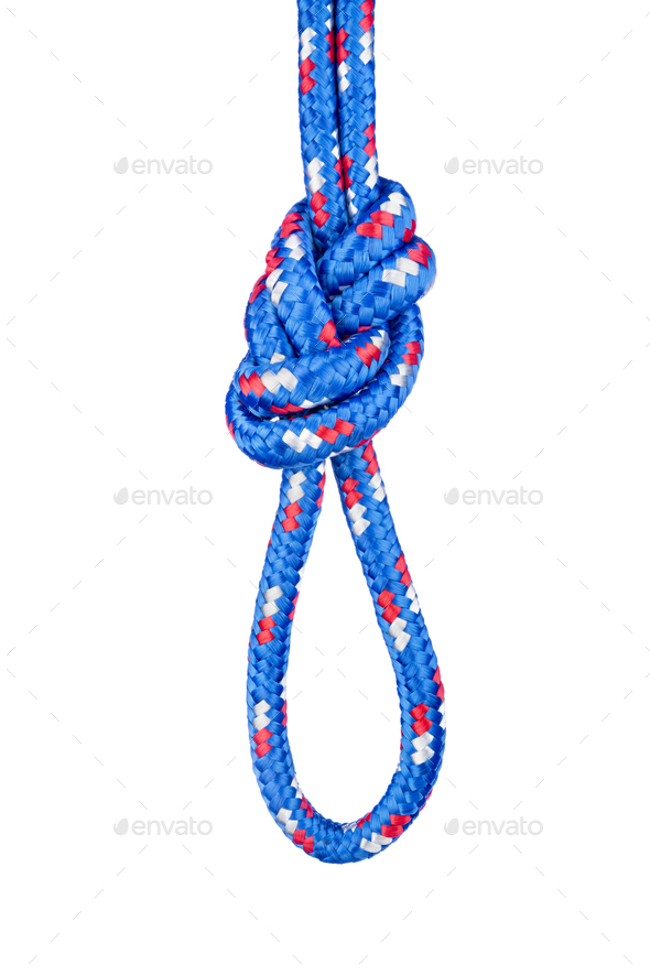 Figure eight knot - Stock Photo - Images