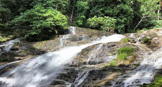 Natural waterfall