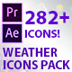 Weather Icons Pack (AE project & Premiere Pro) - VideoHive Item for Sale