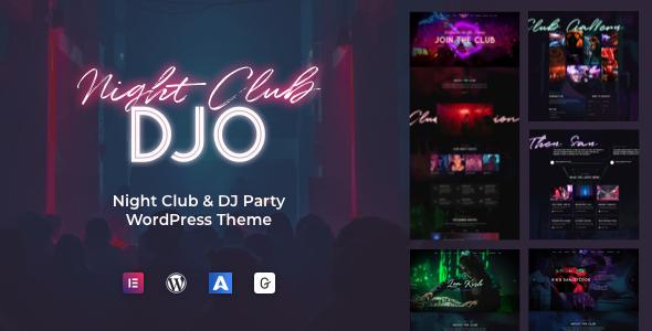 DJO - Night Club and DJ WordPress