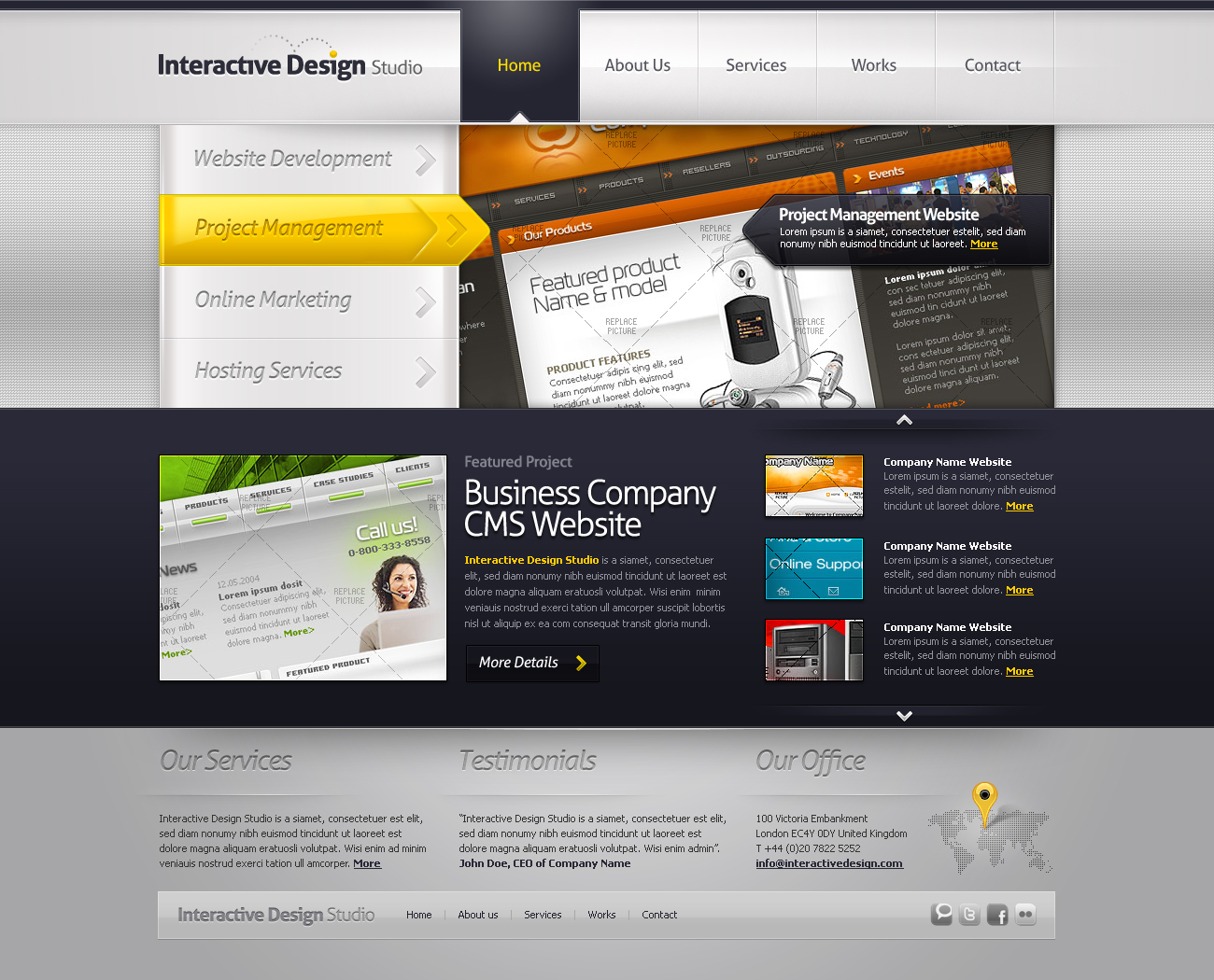 Free Download Creative Portfolio Template #05 Nulled Latest Version