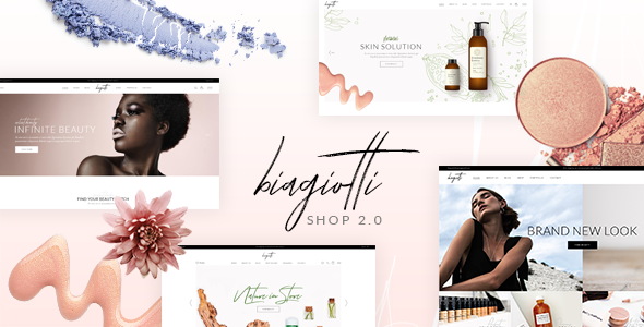 Biagiotti Beauty And Cosmetics Shop By Mikado Themes Themeforest