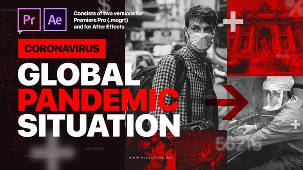 Coronavirus News Intro