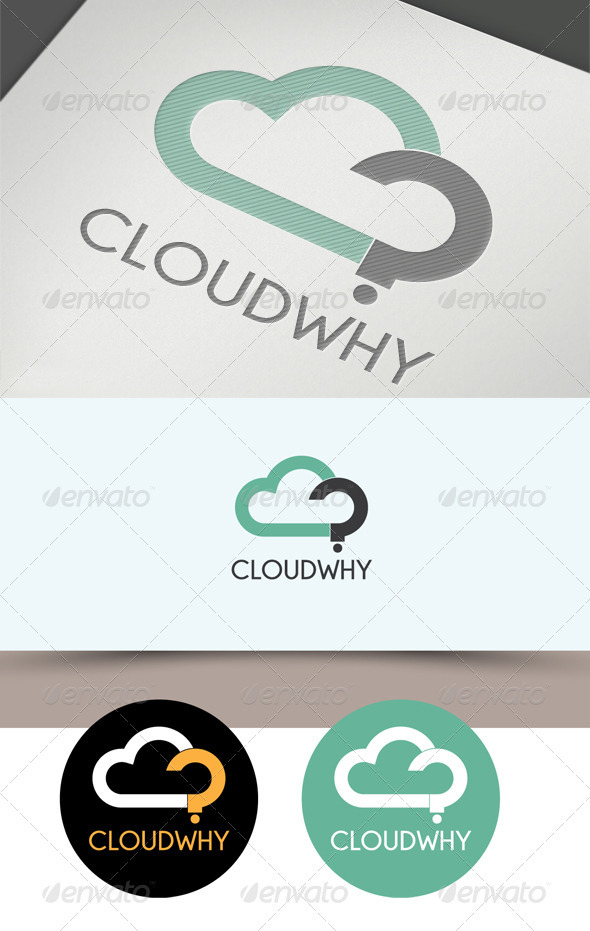 Cloud? Logo - Nature Logo Templates