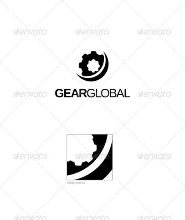 Gear Global Logo - Objects Logo Templates