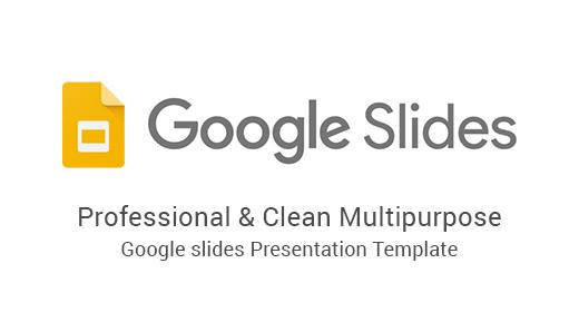 Google Slides - Presentations Template