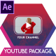 Opener Youtube Package Button Subscribe - VideoHive Item for Sale