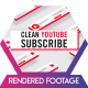 Clean Youtube Subscribe - VideoHive Item for Sale