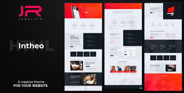 Fabulous IN-Theo, Creative Agency, Corporate and Multi-purpose Template