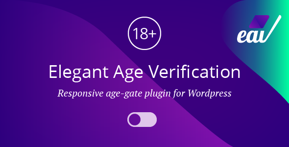 Elegant Age Verification for WordPress