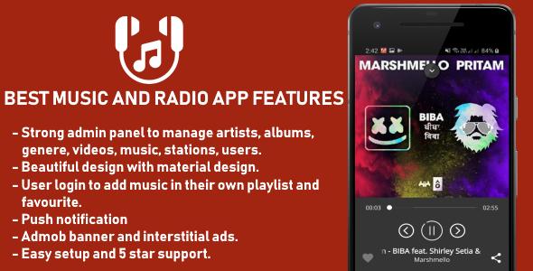 Best Music and Radio App