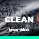 Clean Lower Thirds I Titles For Premiere Pro