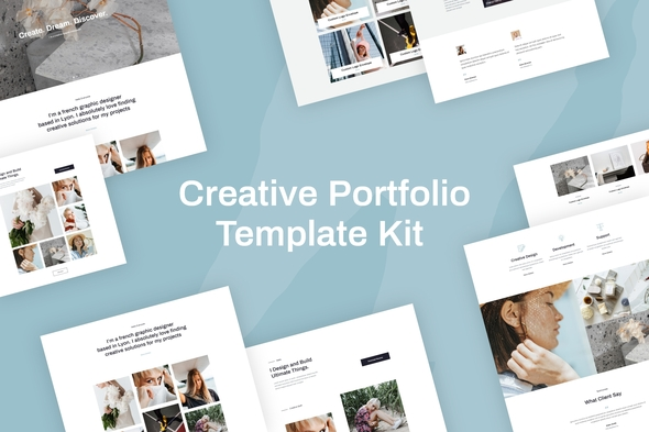Quanzo - Creative Portfolio Template Kit