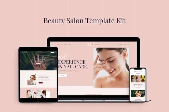 Judy - Beauty Salon Template Kit